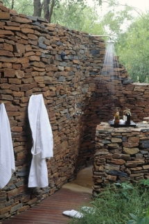 Outdoor shower - Backyard ideas