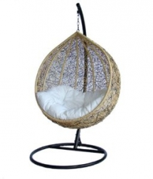 Outdoor Wicker Swing Chair - Outdoor Furniture