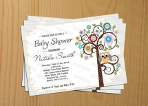 Owl Baby Shower Invitation Gender Neutral Baby Shower Invitation Owl Baby Shower Invites Printable - - Party ideas