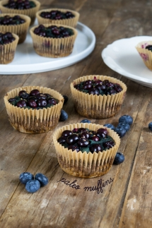 Paleo Blueberry Muffins (Gluten Free Grain Free) - Paleo and Healthy Recipes