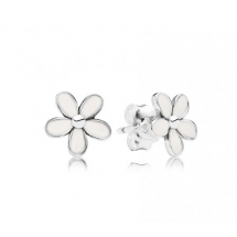 Pandora Daisy Flower Stud Earrings  - Jewelry