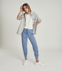 Paneled Loungewear Joggers - Comfy Clothes