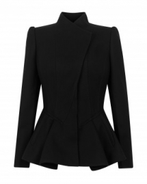 Peplum Jacket - Clothing