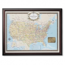 Personalized Travel Map - Christmas Gift Ideas