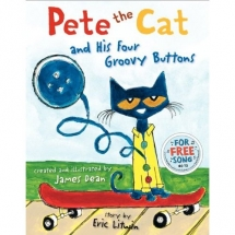 Pete the Cat and His Four Groovy Buttons - Children's books