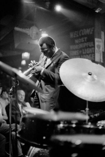 Photo of Miles Davis Performing at Shelly's - Art for Guys