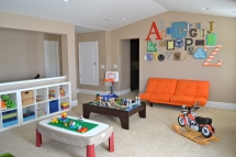 Playroom ideas - alphabet wall - For the kids