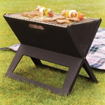 Portable Notebook BBQ Grill - Latest Gadgets & Cool Stuff