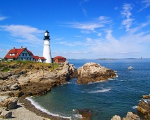 Portland, Maine, USA - I will travel there