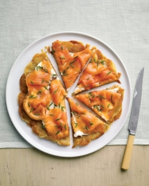 Potato Galette with Smoked Salmon - Salmon Recipes