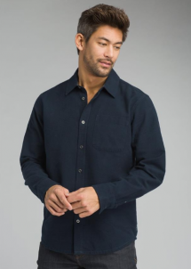 Prana Woodman Men's Button Down Shirt - Long Sleeve Shirts