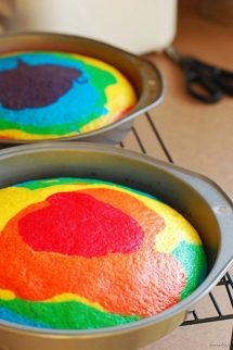 Rainbow Cake - For the little one