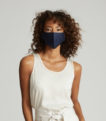 Reusable 3-Layered Fabric Face Mask - Clothing, Shoes & Accessories