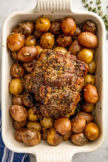 Roast Lamb - Cooking