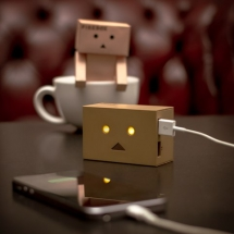 Robot Head Portable phone charger - My Favourite Things