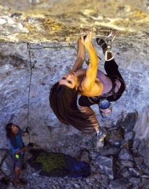 Rock the overhang - Rock Climbing