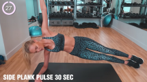 Romee Strijd - 15 Minute Ab Workout - Gotta get those abs!