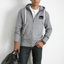 Roots Classic Full Zip Hoody - Clothes make the man