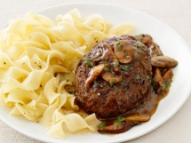 Salisbury Steak with Mushrooms - Tasty Grub
