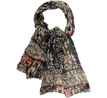 Scarves | Silk scarf | scarf styles and trends - Scarves | digital printed