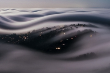 Sea of California fog (picture) - This planet is amazing