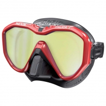 Seacsub Italica Mirrored Mask - Snorkeling & Scuba Diving Gear