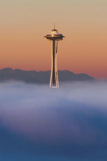 Seattle's Space Needle takes off [photo] - Towers