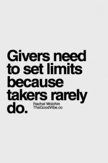 Set limits - Great Sayings & Quotes