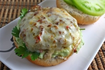 Slasa Verde Turkey Burger - Easy recipes