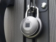Smart Fingerprint Padlock - What's Cool In Technology