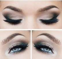 Smokey Eye Tutorial for blue eyes - Makeup