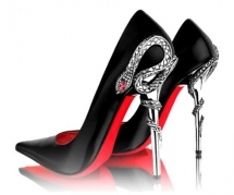 Snake Heel Red Bottom Shoes - All Types of Style