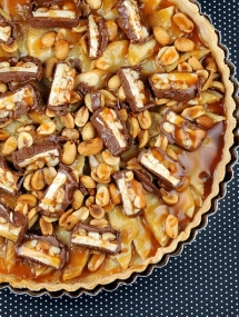 Snickers Apple Tart Recipe - Dessert Recipes