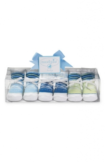 Socks Set (3-Pack) (Baby Boys) by Mud Pie  - For The Baby