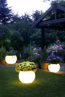 Solar planters - For the home