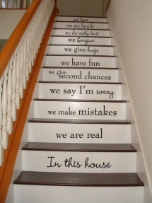 Stair case ideas - For the home