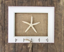 Starfish Key Hook  - Beach House Decor Ideas