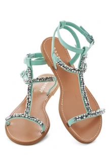 Strapy mint sandals - My style