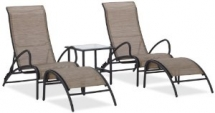 Strathwood 5 Piece Aluminum Sling Outdoor Furniture Set - Outdoor Furniture