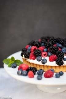 Summer Berry Tart - Desserts