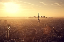 Sunset in Paris from the Tour Montparnasse by Jinna van Ringen - Photography I love