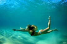 Swiming is pure bliss - Sure I Was Meant To Be A Mermaid