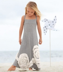 Swirly ruffles maxi dress - For the kids