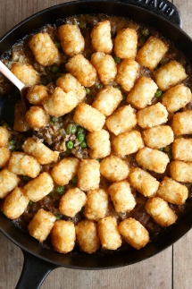 Tater Tot Casserole - I love to cook