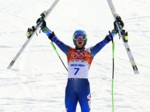 Ted Ligety earns 1st Men's Giant Slalom Gold for USA - Sports