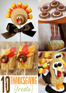 Thanksgiving Treats - Dessert Recipes