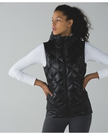 The Fluffiest Vest by Lululemon  - I LUV Lululemon
