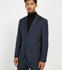 Laurier Sharkskin Stretch-Wool Suit Jacket - Man Style