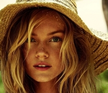 The look of a beautiful summer - Lindsay Ellingson - A Beautiful Face