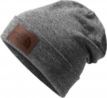 The North Face Men's Leather Dock Worker Recycled Beanie - Hats